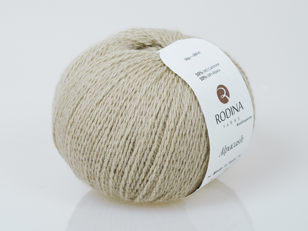 Пряжа ALPACASH Rodina Yarns