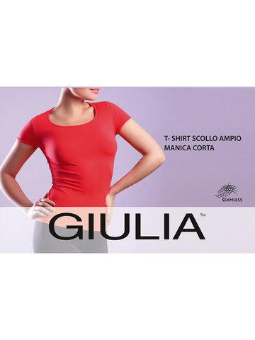 Футболка T-Shirt Scollo Ampio Manica Corta Giulia