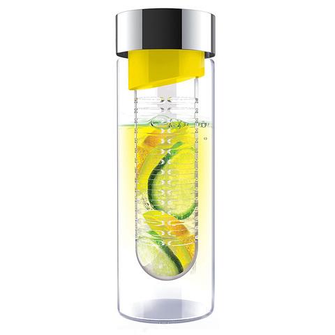 Бутылка Asobu Flavour it (0,48 литра), желтая