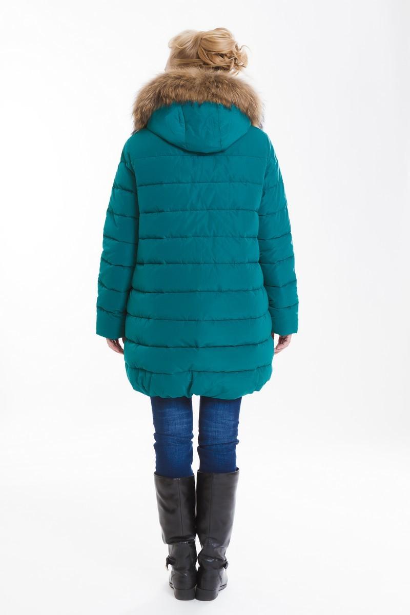Куртка для беременных 08133 зеленый