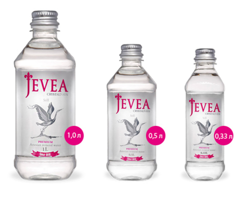 Вода Jevea Crystalnaya Still, 1 л