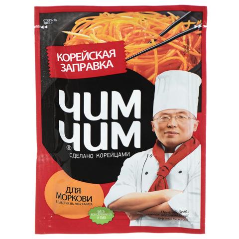 Корейская заправка для моркови Чим-чим, 60г