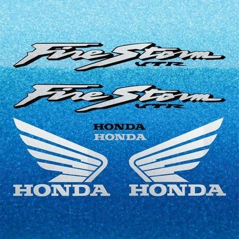 Набор виниловых наклеек на мотоцикл HONDA VTR 1000F FIRESTORM 2002