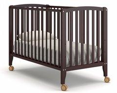 Кровать детская Бьянка на колесиках махагон