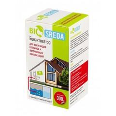 """Биоактиватор """"BIOSREDA"""" для септиков и автономных канализаций , 300 гр 12 пакетиков"""