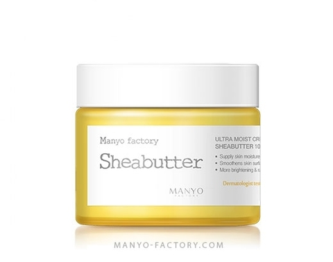 MANYO FACTORY Ultra Moist Creamy Shea Butter  Крем для лица с маслом Ши  75мл