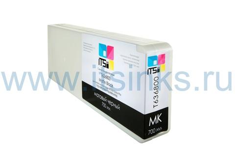 Картридж для Epson 7890/9890 C13T636800 Matte Black 700 мл