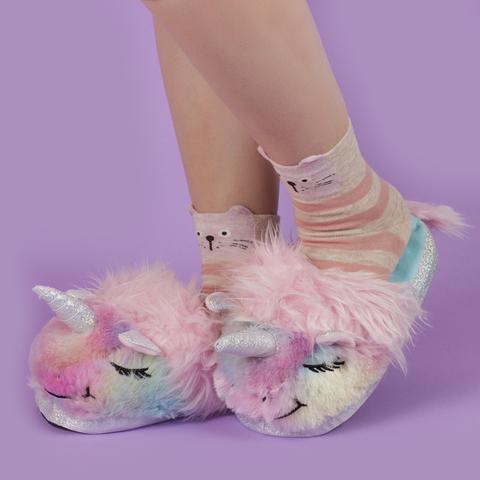 Тапки Rainbow Unicorn 35-40