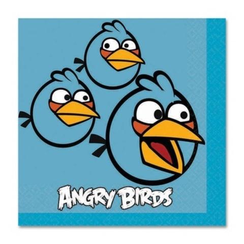 Салфетка Angry Birds 25см 16шт