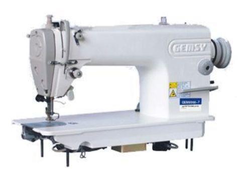 Одноигольная прямострочная швейная машина Gemsy GEM 8900 H | Soliy.com.ua