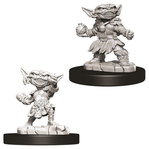 Pathfinder Deep Cuts Unpainted Miniatures - Female Goblin Alchemist