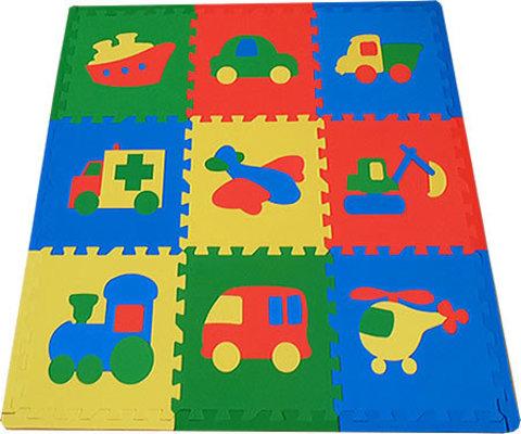 Набор мягких детских модульных плиток