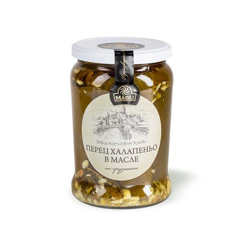 Перец Халапеньо в масле