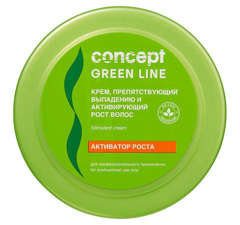 Крем Грин Лайн Концепт препятствующий выпадению и активирующий рост волос 300мл Концепт