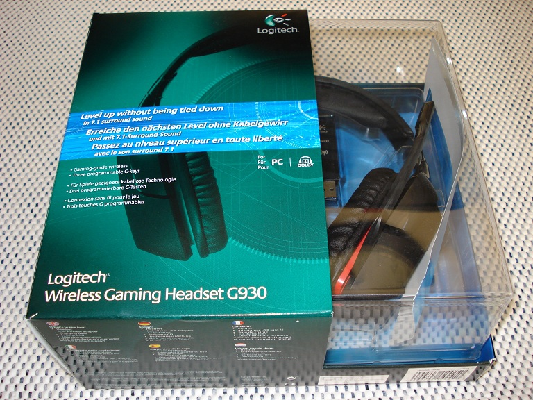 LOGITECH G930 7.1 SurroundSound Wireless Gaming Headset