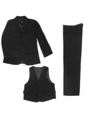 1002 костюм для мальчиков черный