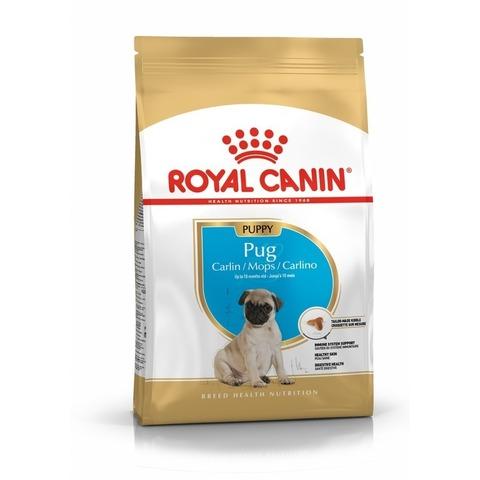 Корм для щенков Royal Canin Мопс для здоровья кожи и шерсти 1.5 кг