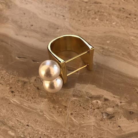 Кольцо Хармони, позолота