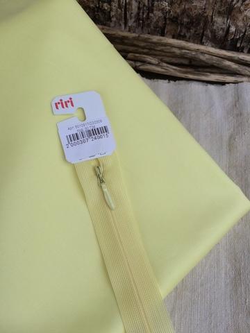Молния потайная Т3, Riri, 22см, светло-желтый