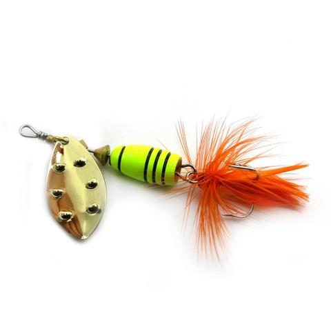 Блесна Extreme Fishing Total Obsession №1 5g 15-FluoYellow/G