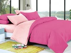 КПБ 2 спальный цвет: Щербет и малина