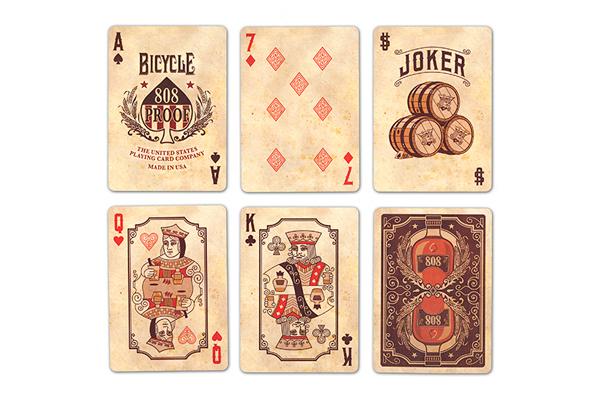 Колода карт Bicycle Bourbon