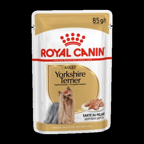 Royal Canin Yorkshire Terrier Adult Консервы для собак породы Йоркширский терьер (Пауч)