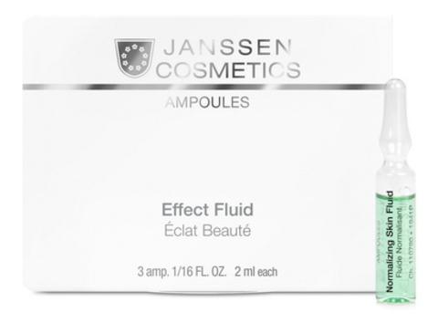 Нормализующий концентрат для ухода за жирной кожей Janssen Normalizing Fluid,25 амп.х2 мл.