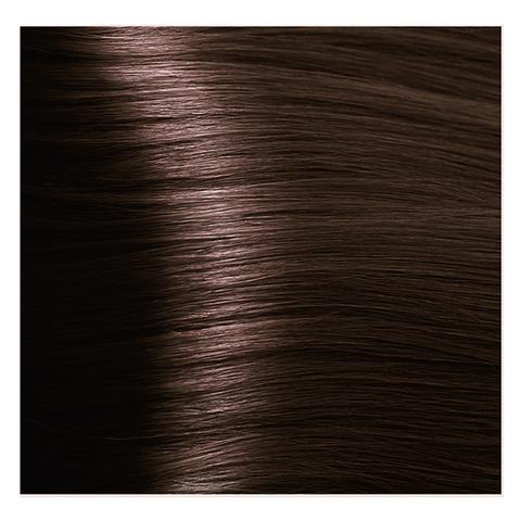 Крем краска для волос с гиалуроновой кислотой Kapous, 100 мл - HY 5.32 Светлый коричневый палисандр