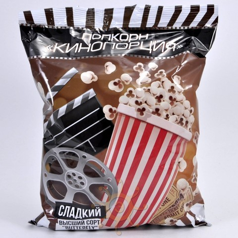Кинокорпорация / Попкорн сладкий, 140г