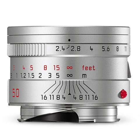 Leica Summarit-M 50mm f/2.4 ASPH Silver