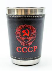Подарочный набор стопок в чехле СССР, фото 6