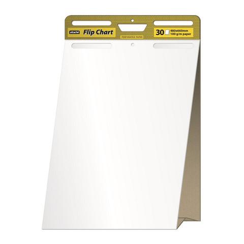 Флипчарт мобильный 48x72.2 см (белый 30 листов 100 г/кв.м, раздвижной блок) Attache Selection