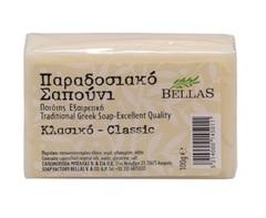 Натуральное оливковое мыло классическое Bellas 100 гр
