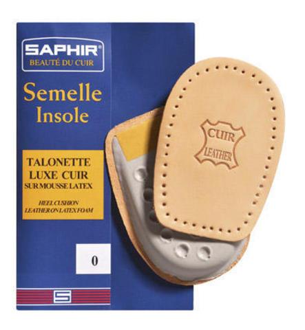 Подпяточник ортопедический Semelle Insolle, Talonnette Luxe Cuir, Saphir (4 размера)