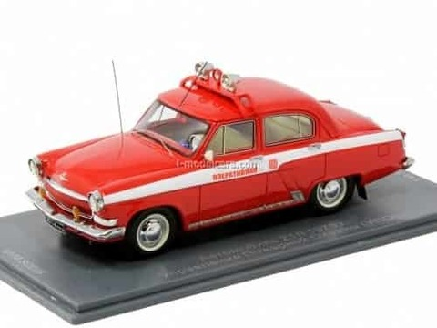 GAZ-21L Fire Department (UPO) 1972 1:43 VVM / VMM