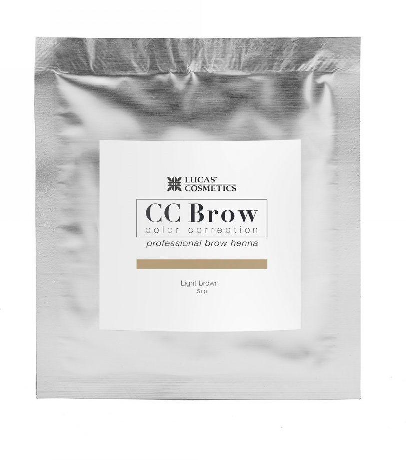 Хна для бровей CC Brow 5гр в саше Light Brown Светло-коричневый