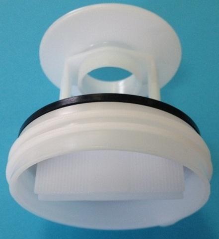 Фильтр сливного насоса (помпы) для стиральной машины Bosch (Бош) белая - WS065 для насоса PMP020BO