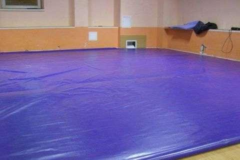 Борцовские ковры одноцветные
