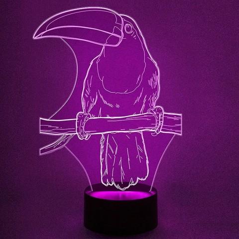 Попугай тукан