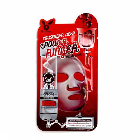 Тканевая маска с коллагеном Elizavecca Collagen Deep Power Ringer Mask 1шт