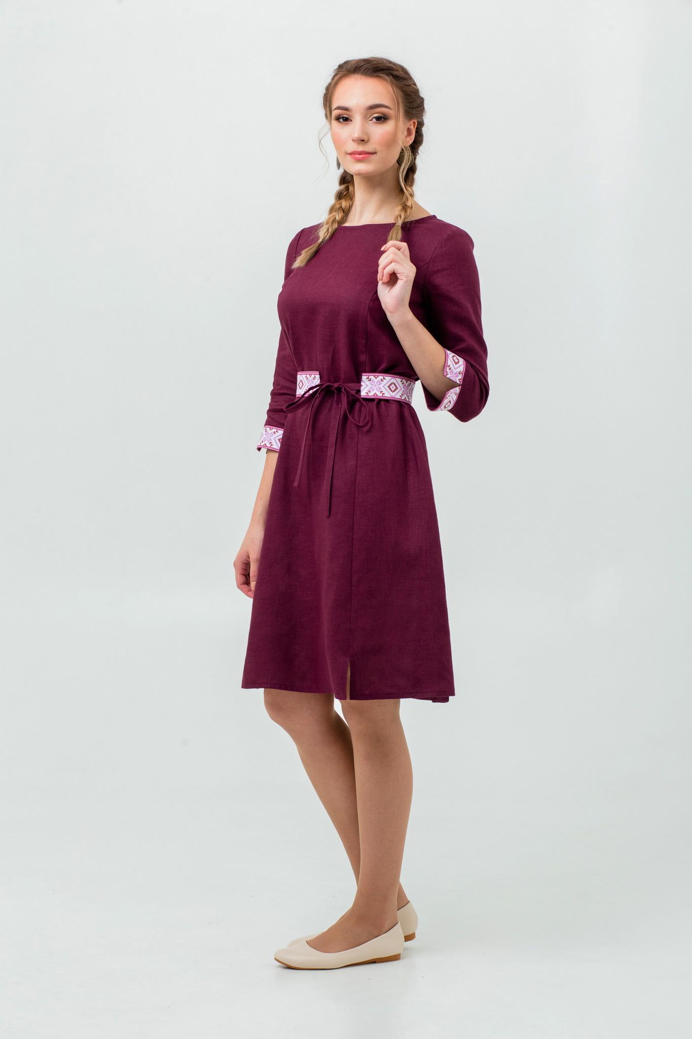 Русское народное платье купить Сочный виноград