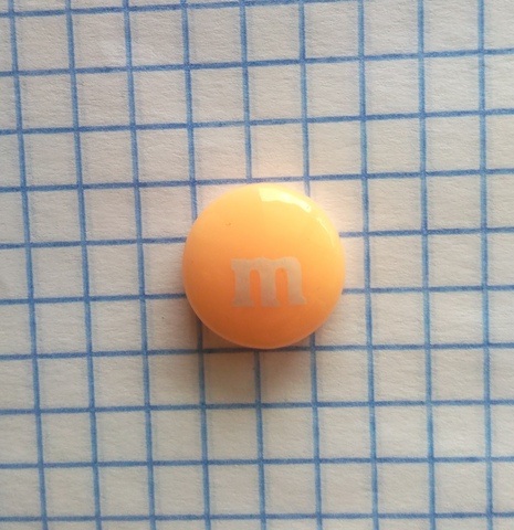 Кабошоны M&M пластиковые для скрапбукинга 14 мм