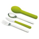 Набор столовых приборов GoEat™ Cutlery Set зелёный Joseph Joseph 81033 | Купить в Москве, СПб и с доставкой по всей России | Интернет магазин www.Kitchen-Devices.ru