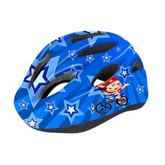 Велошлем детский Cigna WT-021 (чёрный/синий)