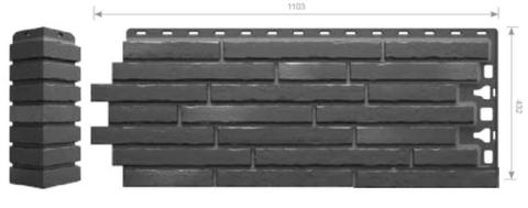 Фасадные панели Docke-R Klinker (Клинкерный кирпич) Атакама