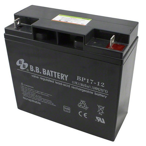 Аккумулятор B.B. BATTERY BP17-12/B1