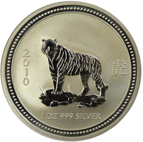 1 доллар. Год Тигра. Австралия. 2007 год