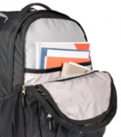 Картинка рюкзак школьный Deuter Graduate Aubergine-Lion