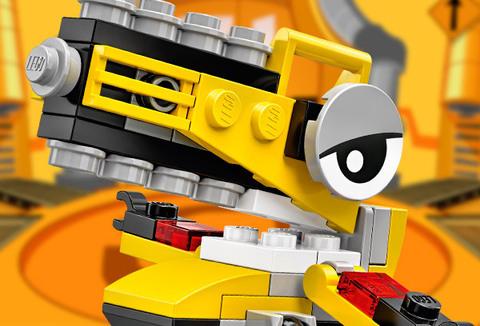 LEGO Mixels: Вуззо 41547 — Wuzzo — Лего Миксели